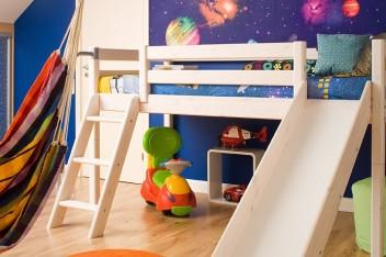 Strefa wypoczynku w pokoju dziecka