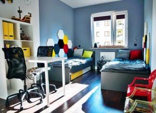 Funkcjonalny i praktyczny pokój dziecięcy
