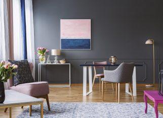 fiolet-w-biurze
