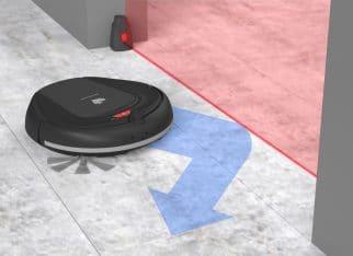 Inteligentny robot sprzątajacy