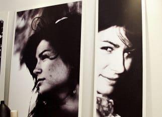 Biało-czarne zdjęcia w salone