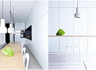 Pożyteczne schowki w kuchni