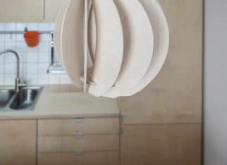 Lampa Papoula w kuchnia