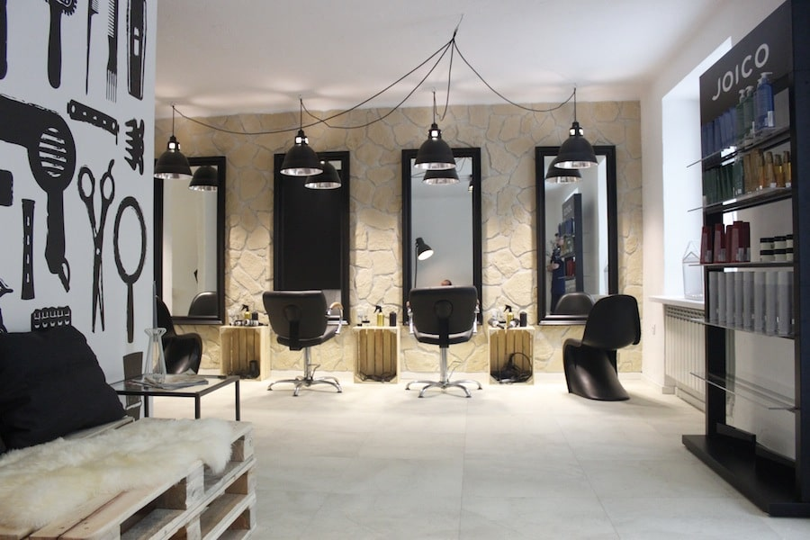 Love Hair Salon Fryzjerski Deko Radypl