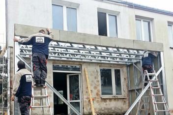 Rozbudowa Domu Kostki w technologii lekkich konstrukcji stalowych