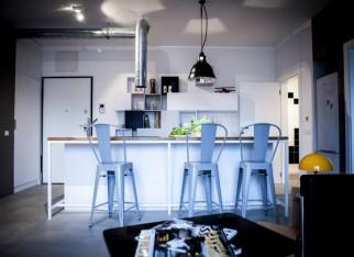 Styl industrialny w kuchni