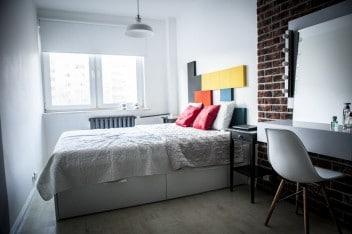 Pomysł na ścianę w sypialni - Fluffo