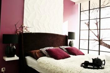 Sypialnia w japońskim stylu
