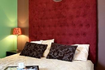 Łóżko w barokowym stylu