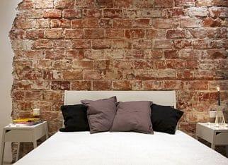 Sypialnia w stylu industrialnym
