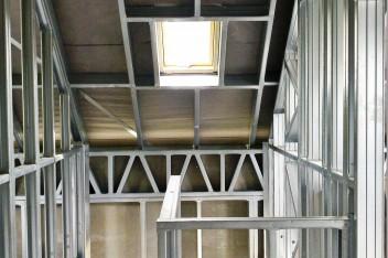 Stalart - konstrukcja stalowa wnętrze