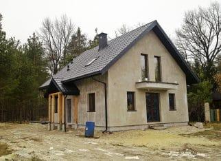 Budynek jednorodzinny w konstrukcji metalowej