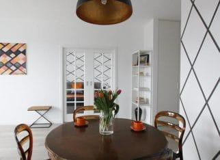 Niewielkie nowoczesne mieszkanie