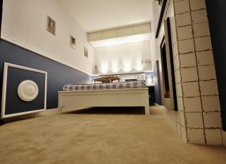 Wąski pokój - sypialnia