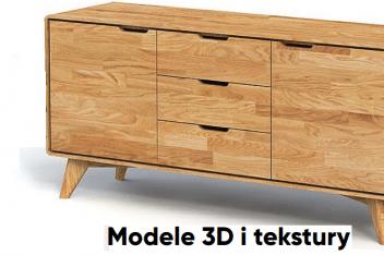 Wizualizacja mebli 3D - firma Beds