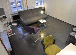 Lakierowany beton na podłodze