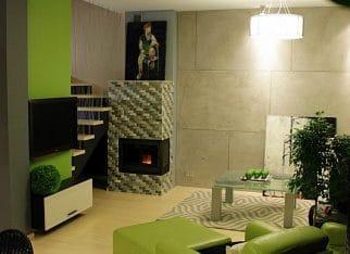 Żywa zieleń w salonie