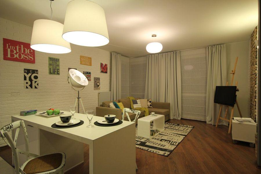 Zajrzyj do galerii i zobacz jak zaaranżować mieszkanie w stylu loftowym.