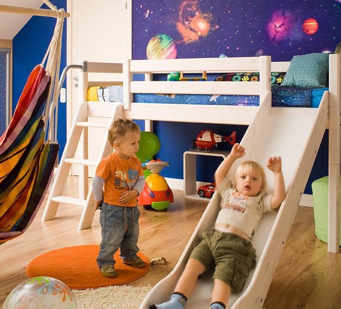 Nasz pomysł na pokój dziecięcy w niestandardowym stylu.