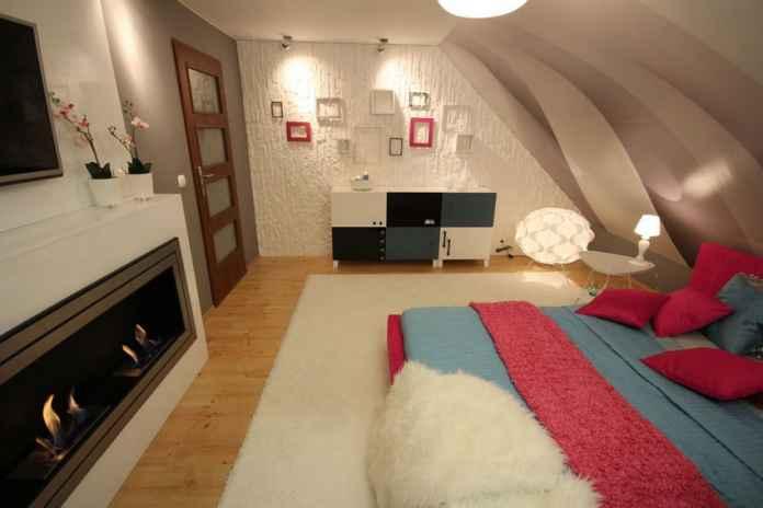 Sypialnia nowoczesna to przede wszystkim odważne kolory. Czy róż w sypialni to dobry pomysł? TAK!