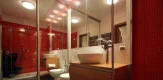 Zapraszamy do naszej galerii. Zobacz, jak aranżować czerwień w łazience.