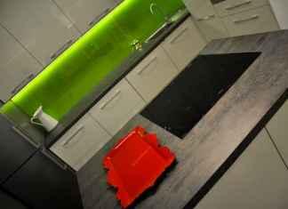 Kolory w kuchni? Jeżeli intensywne barwy to tylko w detalach! Zobacz nasz pomysł na kuchnię z limonką.