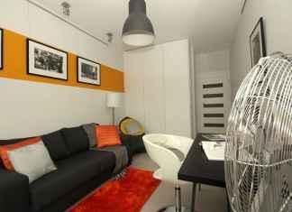 Zobacz, jak wygląda domowy gabinet w stylu loftowym.