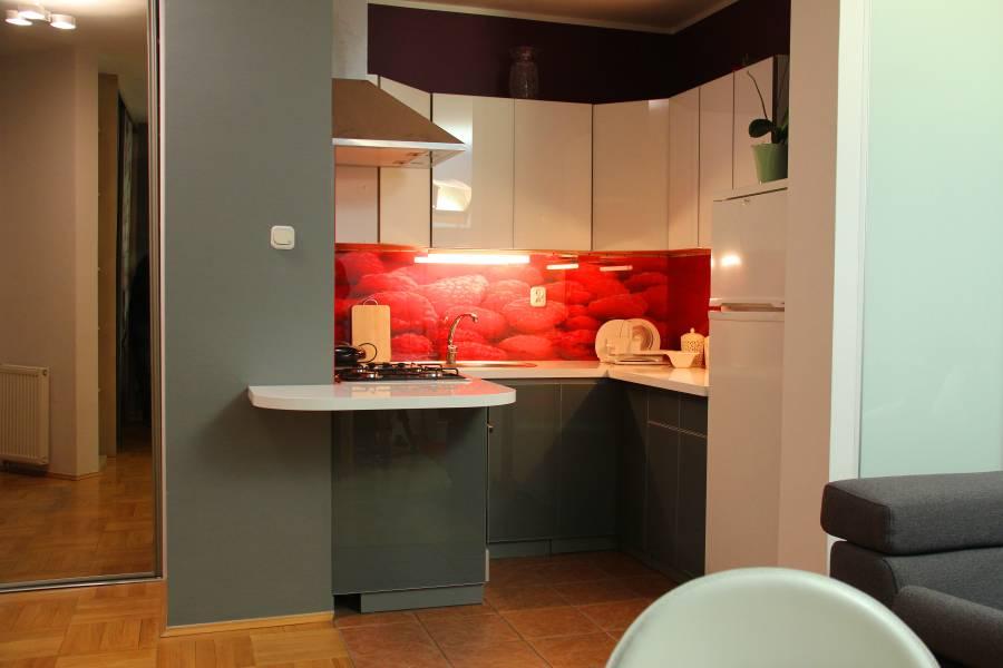 Szkło, tapeta, farba  co zamiast płytek w kuchni  Deko   -> Kuchnia Tapeta Czy Farba
