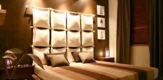 Sprawdź, jak zrobić zagłówek z poduszek do łóżka w sypialni.