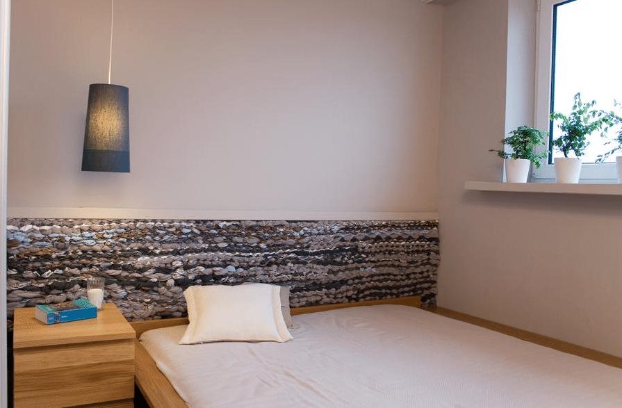 Zobacz, jak zrobić zagłówek do łóżka z plecionki.