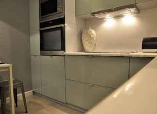 idealne kolory do kuchni to... mięta! Zobacz jak współgra z chłodem stali.
