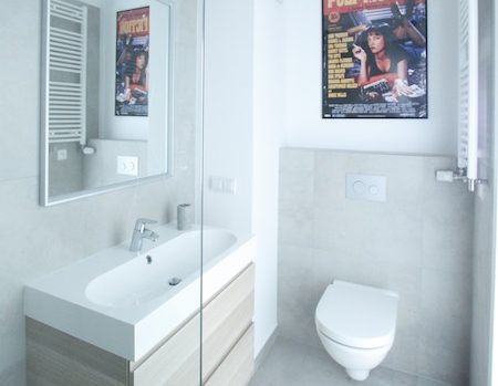 Szukasz pomysłu na nowoczesną i surowe wnętrze? Łazienka w betonie z pewnością przypadnie ci do gustu!