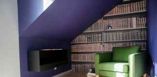 Kącik biblioteczny w sypialni. Zobacz, jak znaleźć miejsce na książki w sypialni.