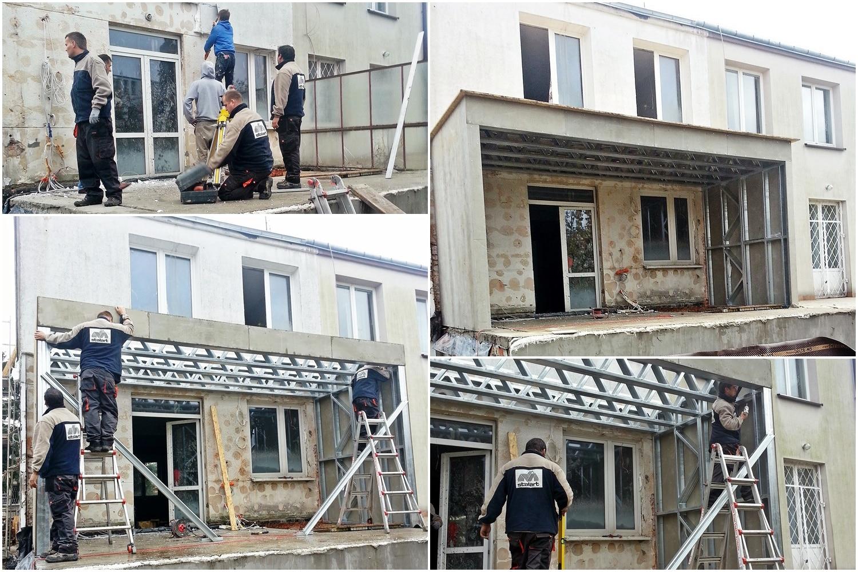 Remont Domu Kostki w konstrukcji stalowej - zobacz czym jest lekki szkielet stalowy.