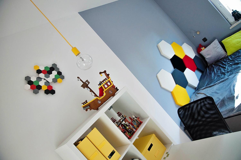 Jak urządzić pokój dla chłopców? Oto przykłąd aranżacji dla dwóch braci.