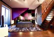 Sypialnia z garderobą na poddaszu to jedne z naszych projektów. ZObacz, jak udało nam się zaaranżować to wnętrze.