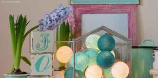Girlandy Cotton Ball Lights