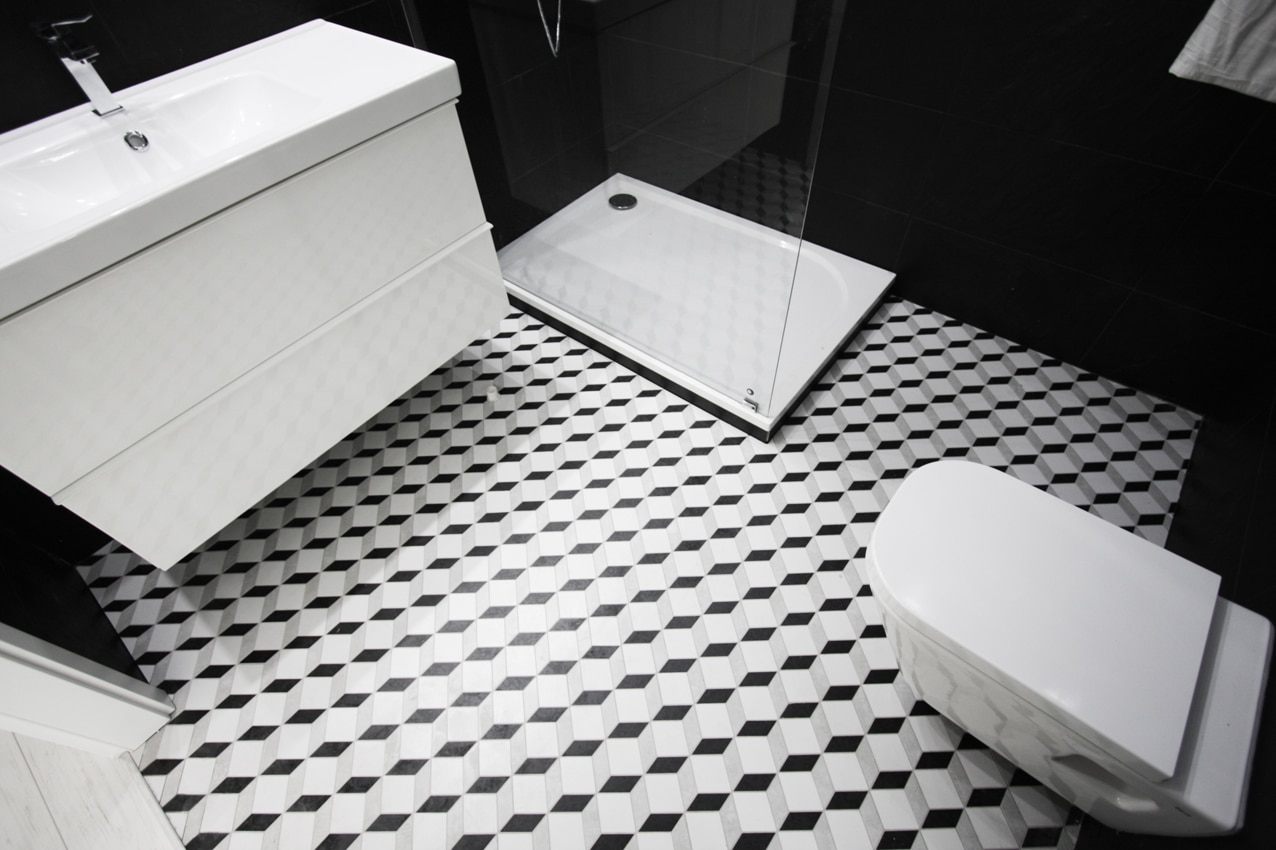 Zobacz, jak mozaika w łazience może ozdobić każde wnętrze.