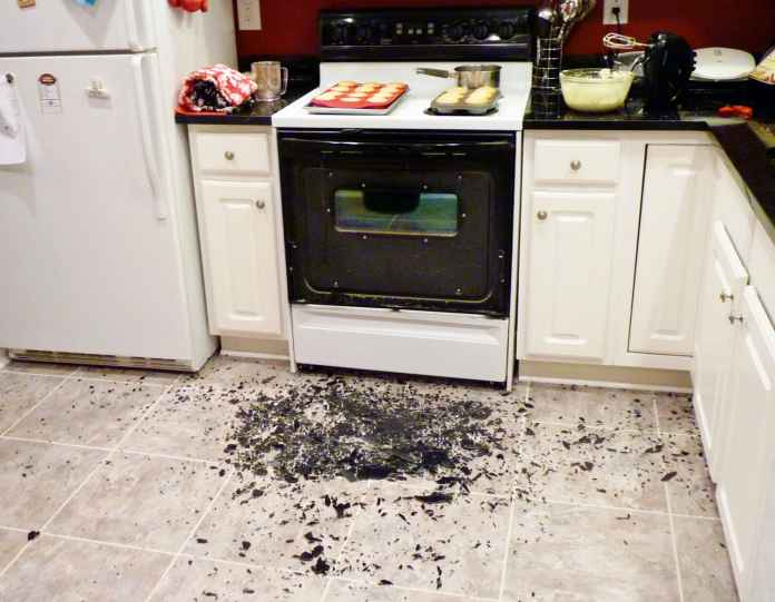 Oven Disaster - 1