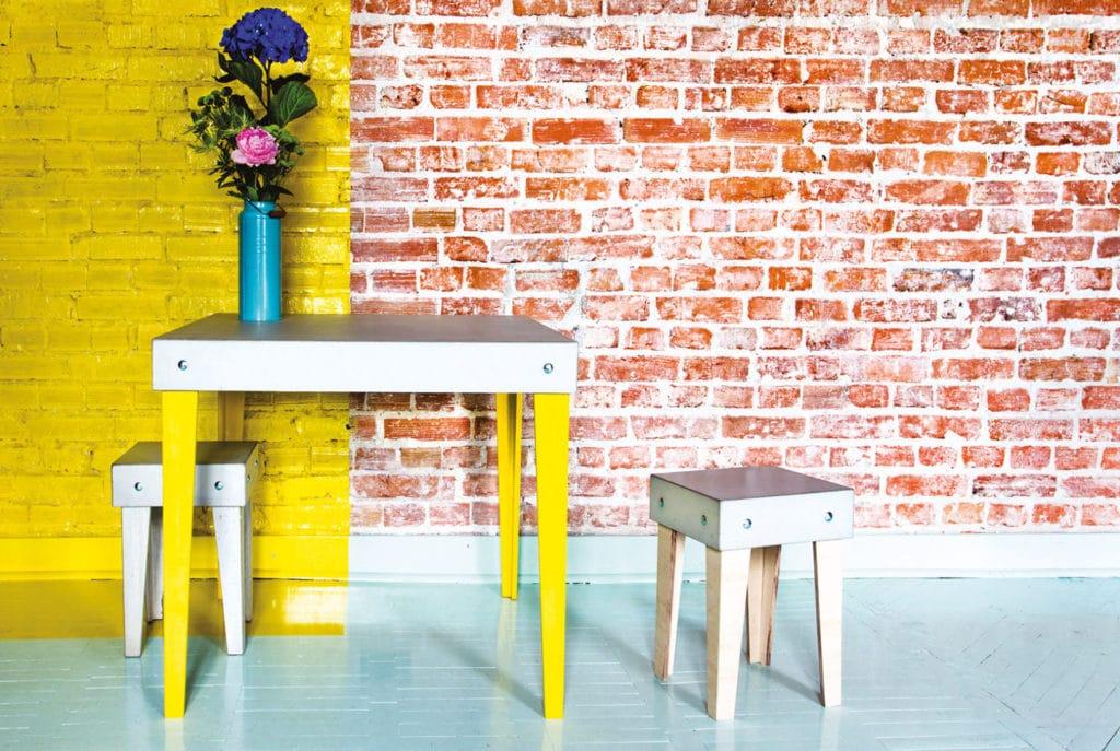 Meble z betonu czyli zmontuj sobie beton deko for Beton salon