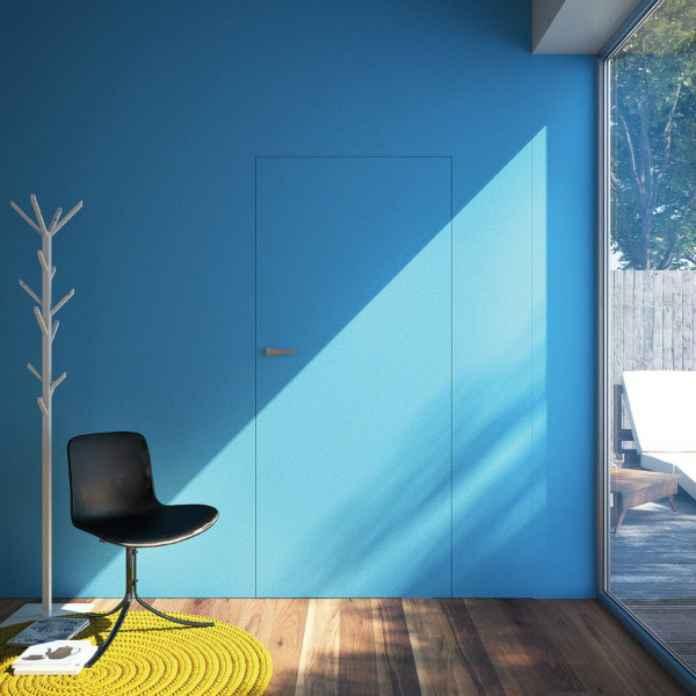Podobają ci się te drzwi ukryte w ścianie? Zobacz, gdzie je kupić.