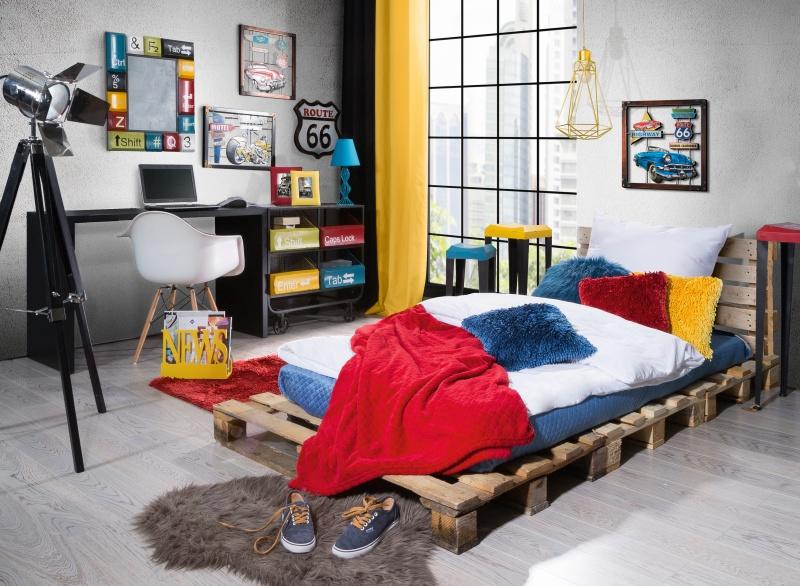 Czy pokój nastolatka może być funkcjonalny i stylowy? Zobacz nasz pomysł na aranżację.