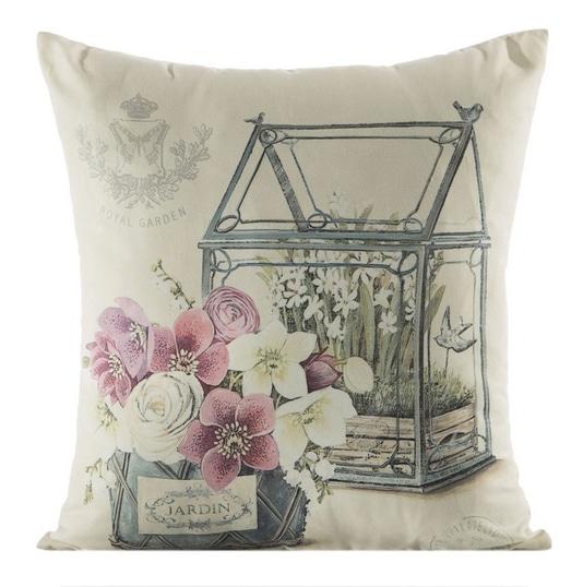 Radzimy, gdzie kupić poduszki i inne tekstylia z kwiatowymi wzorami.