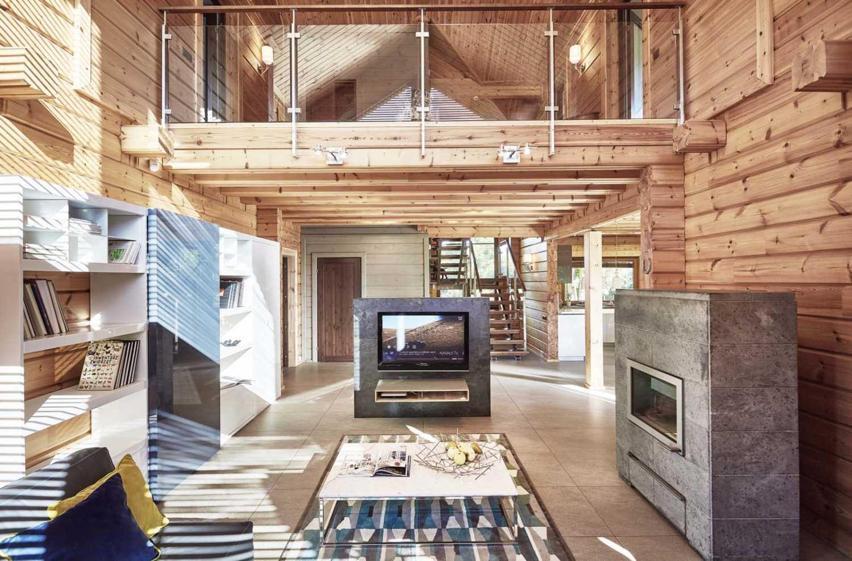 Dom z bali to moda wprost z Finlandii. Zobacz jak wybudować taki skandynawski dom.