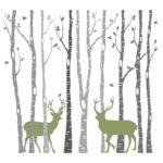Naklejka ścienna Wildlife 2, 99 zł, www