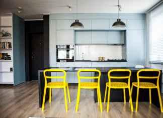 Meble do kuchni - jakie powinny być hokery, stołki barowe do wyspy kuchennej.