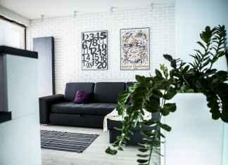 Zobacz, jak urządzic małe mieszkanie w minimalistycznym stylu.