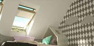 Sprawdź, jak zaaranżować pokój dziecka na poddaszu i jak go doświetlić.