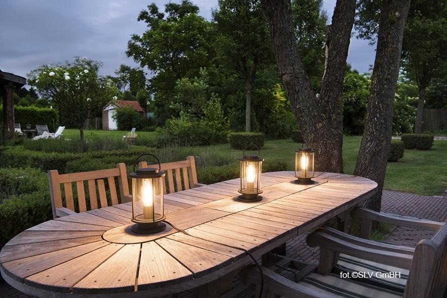 Klimatyczne Oświetlenie Ogrodu Lampami Slv Deko Radypl