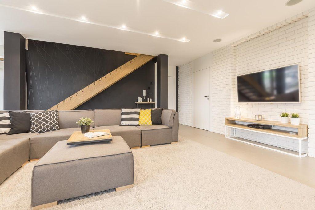 Odległość kanapy od telewizora